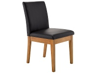 LivingStyles Nobby PU Leather Dining Chair