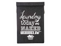 LivingStyles Naked Tomorrow Fabric Laundry Hamper