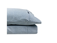 LivingStyles Odyssey Living Marle 1000TC Cotton Rich Sheet Set, Queen, Navy