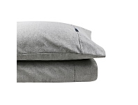 LivingStyles Odyssey Living Marle 1000TC Cotton Rich Sheet Set, Queen, Silver