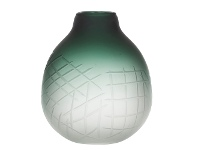 LivingStyles Arden Glass Vase, Small