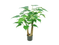 LivingStyles Potted Artificial Alocasia Cucullata Tree, 95cm