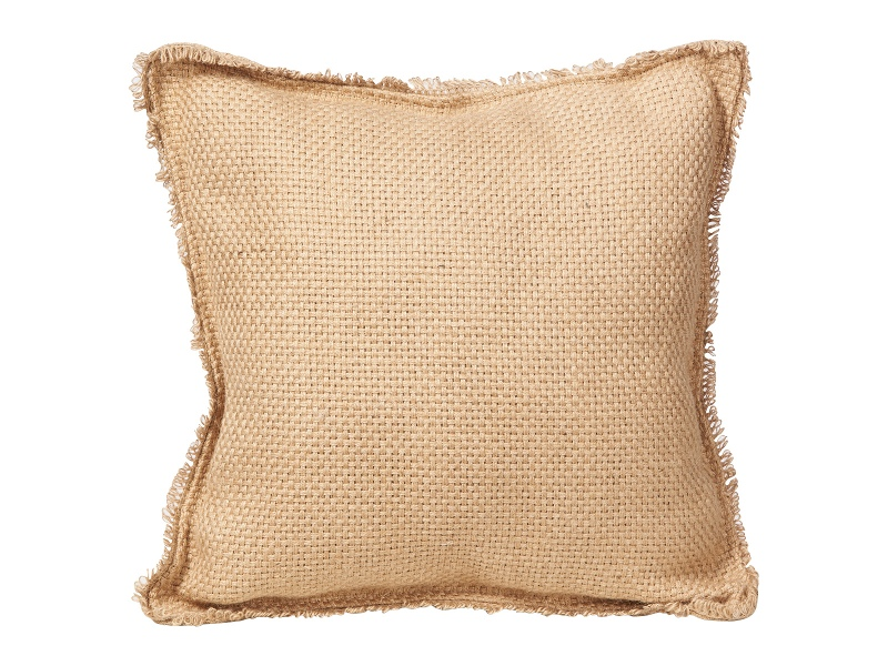 Rover Jute Scatter Cushion, 45cm , Natural
