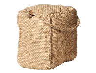 LivingStyles Rover Jute Square Door Stopper, Natural