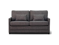 LivingStyles Tofta Fabric Sofa Bed, Double, Pepper