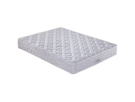 LivingStyles Orthozone Magic Coil Continuous & Pocket Spring Mattress with Pillow Top, King Single