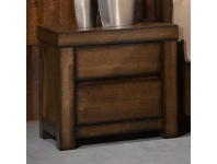 LivingStyles Stanmore Wooden Bedside Table