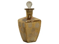 LivingStyles Pratt Antique Glass Perfume Bottle