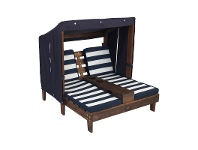 LivingStyles KidKraft Double Chaise Kids Sun Lounge