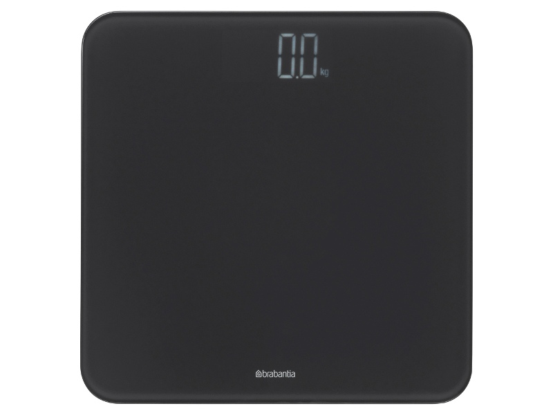 Brabantia Digital Bathroom Scale, Dark Grey