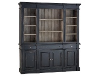 LivingStyles Roggeveen Mahogany Timber Estate Bookcase