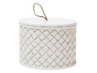 LivingStyles Rawlins Decorative Canister, Small