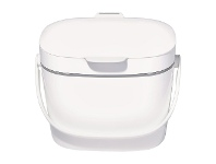 LivingStyles OXO Good Grips Easy-Clean Compost Bin, White
