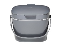 LivingStyles OXO Good Grips Easy-Clean Compost Bin, Charcoal