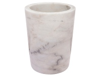 LivingStyles Valley Marble Wine Cooler, White