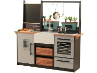 LivingStyles KidKraft Farm to Table Play Kitchen with EZ Kraft Assembly