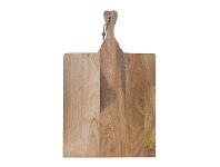 LivingStyles Kerry Timber Paddle Serving Board, 70cm