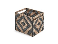 Colville Hand Braided Water Hyacinth Rectangular Basket