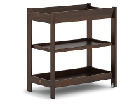 LivingStyles Boori Universal Wooden 3 Tier Change Table, Coffee