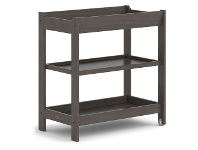 LivingStyles Boori Universal Wooden 3 Tier Change Table, Mocha