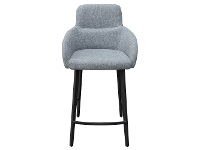 LivingStyles Linden Fabric Counter Stool