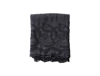 LivingStyles Jerome Lace Embroidered Linen Tablecloth, 130x170cm