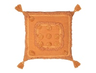 LivingStyles Tulare Cotton Scatter Cushion, Terracotta