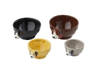 LivingStyles Davis & Waddell Rufus 4 Piece Dolomite Measuring Cup Set