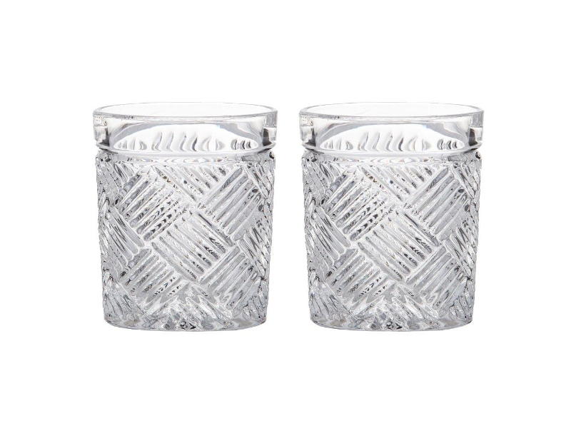 Fine Foods Grande 2 Piece Double Old Fashioned Glass Set