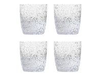 LivingStyles Ecology Pollock Glass Tumbler, Set of 4