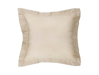 LivingStyles Moni Cotton Euro Pillowcase, Cream