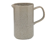 LivingStyles Ecology Mineral Stoneware Jug, Overcast