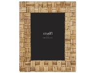 """LivingStyles Cardell Rattan Photo Frame, 5x7"""""""