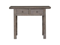 LivingStyles Yuntai Reclaimed Elm Timber Antique Oriental 2 Drawer Console Table, No.1107, 108cm
