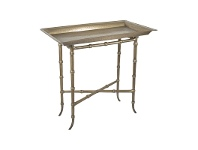 LivingStyles Thomson Metal Tray Topped Side Table