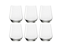 LivingStyles IVV Tasting Hour Gin / Whiskey Glass, Set of 6