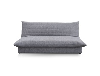 LivingStyles Greenwell Fabric Clic Clac Sofa Bed, 2 Seater, Grey
