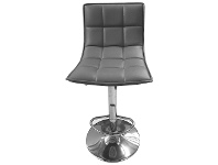 LivingStyles Lunar PU Leather Gas Lift Bar Stool