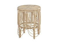 LivingStyles Belize Rattan Round Side Table