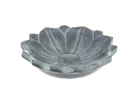 LivingStyles Oritga Soapstone Trinket Plate, Small