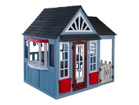 LivingStyles Kidkraft Timber Trail Wooden Outdoor Playhouse