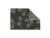 LivingStyles Olive Grove & Cotswold 4 Piece Fabric Placemat Set, Olive