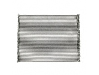LivingStyles Abby 4 Piece Stripe Fabric Placemat Set, Olive