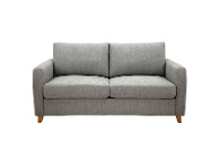 LivingStyles Farnell Fabric Pull Out Sofa Bed, 2.5 Seater, Oyster