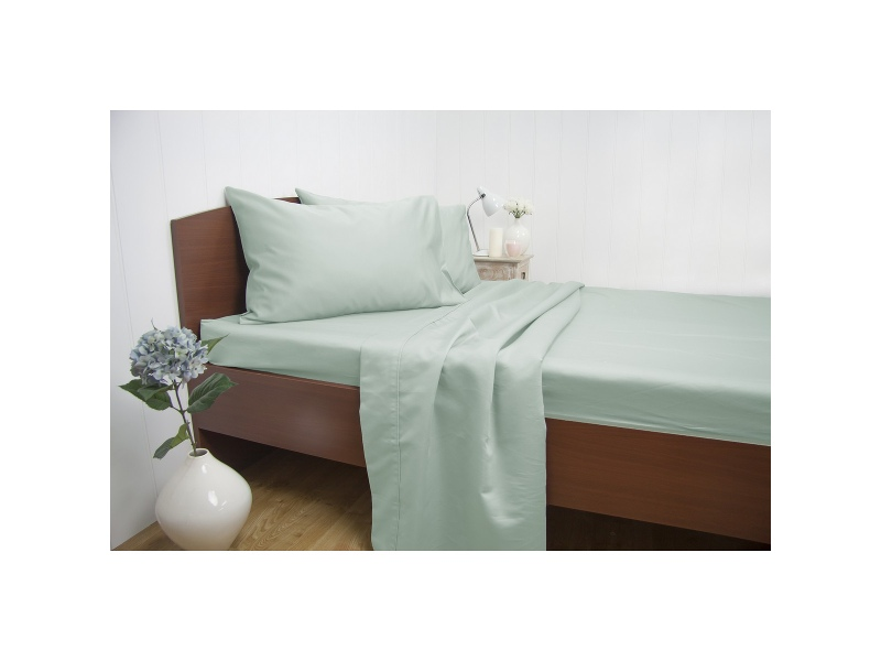Ardor 1500TC Cotton Rich Sheet Set, Queen, Mint