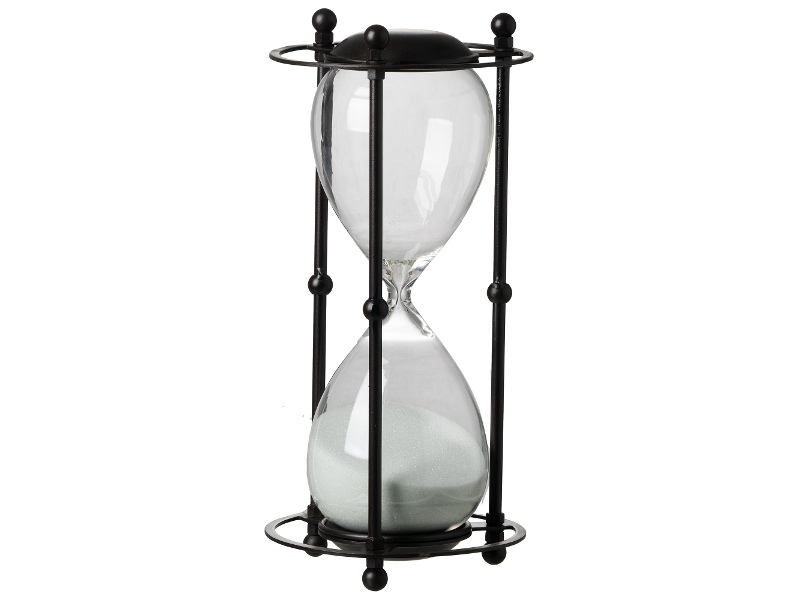 Christopher Metal Framed Hourglass