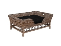 LivingStyles Terrence Rattan Pet Bed