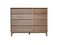 LivingStyles Carnfney Timber 8 Drawer Jumbo Chest