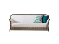 Felicity Wicker Outdoor Sofa, 3 Seater