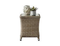 Felicity Wicker Outdoor Side Table